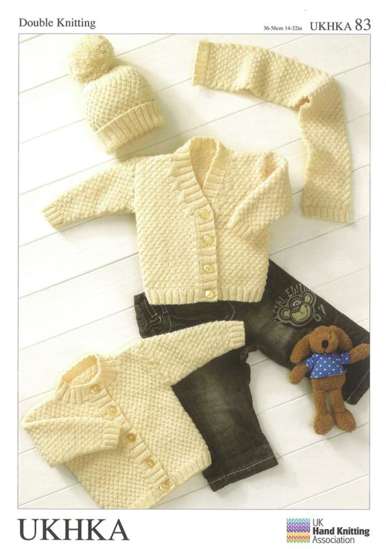 UKHKA Knitting pattern 83 DK - Deany Fabrics