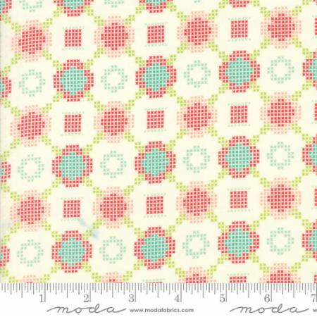"Moda Fat Quarter 22""x18"" - Handmade Cream 55144 18"