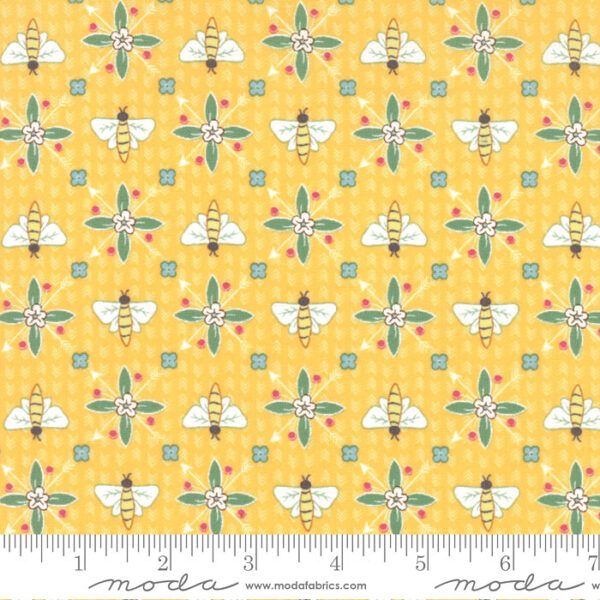 "Moda Fat Quarter 22""x18"" - Bumble Berries Full Sun 25093 14"