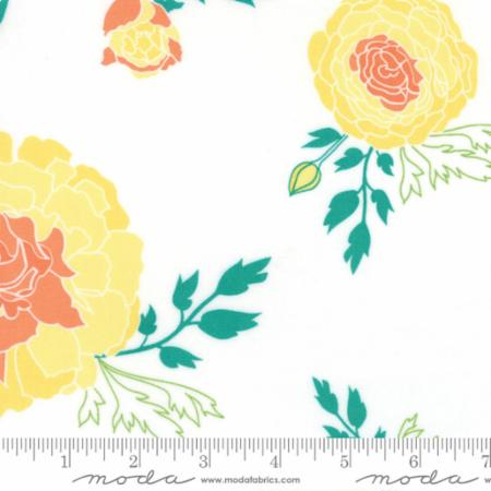 "Moda Fat Quarter 22""x18"" - Bumble Berries Scroll Cloud 45500 11"
