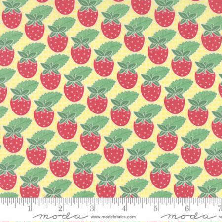 "Moda Fat Quarter 22""x18"" - Bumble Berries Sunny 25091 13"