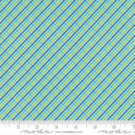 """Moda Fat Quarter 22""""x18"""" - Brighten Up Blue Green 22286 29"""