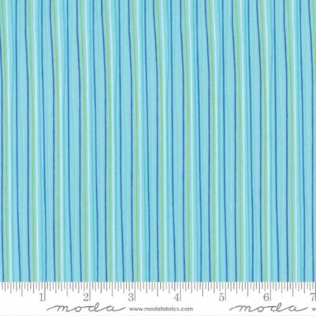 "Moda Fat Quarter 22""x18"" - Brighten Up Aqua 22288 17"