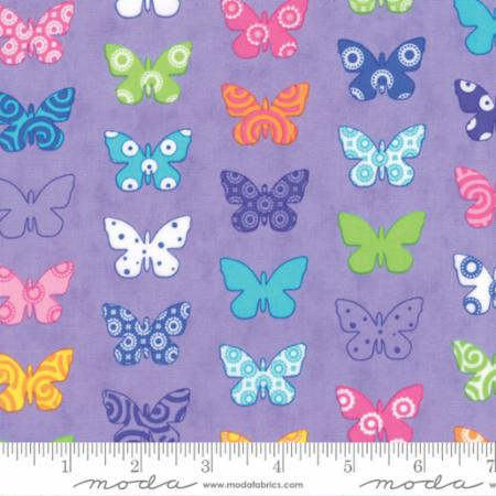 "Moda Fat Quarter 22""x18"" - Brighten Up Purple 22281 14"