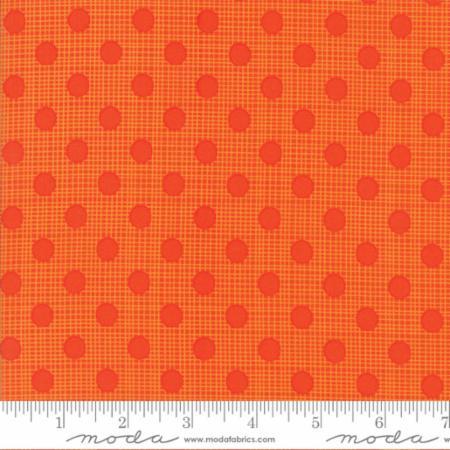 "Moda Fat Quarter 22""x18"" - Wing Leaf Persimmon 10067 18"