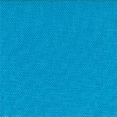 """Moda Fat Quarter 22""""x18"""" - Bella Solids Bright Turquoise 9900 226"""