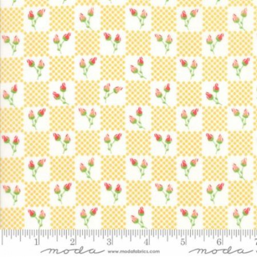 "Moda Fat Quarter 22""x18"" - Lulu Lane 29024 13"