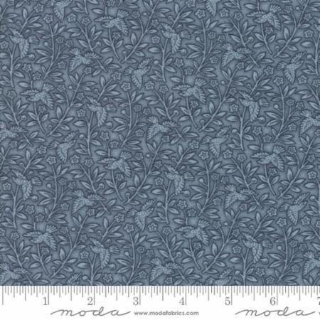 """Moda Fabric Fat Quarter 22""""x18"""" - Snowberry Prints Sky 44144 14"""