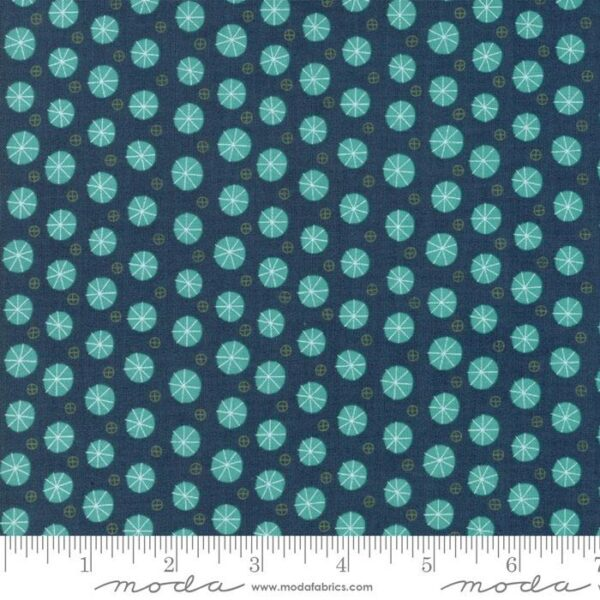 """Moda Fabric Fat Quarter 22""""x18"""" - Eat Drink Be Ugly 17926 15"""