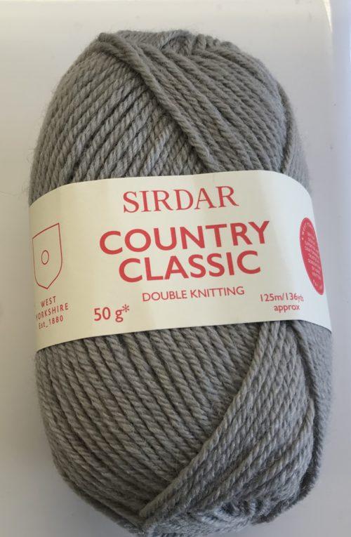 Sirdar Country Classic Dk Yarn 50g Dark Grey Deany Fabrics