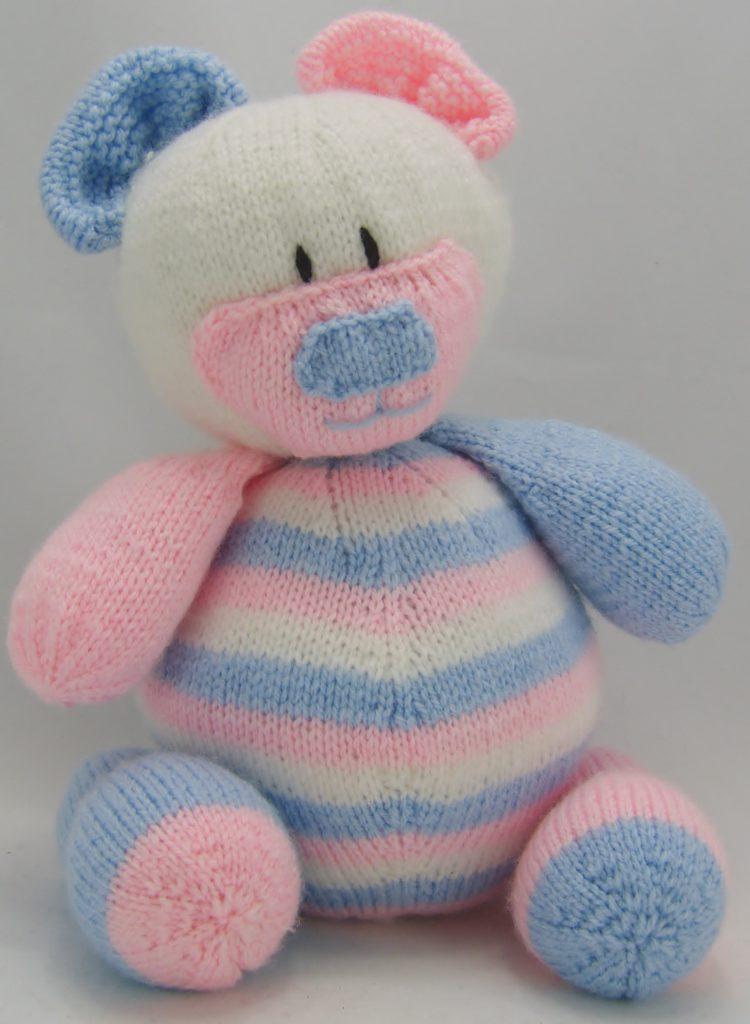KBP Nursery Bear Door Stop Knitting Pattern